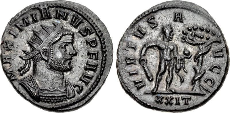 Antoniniano Maximiano