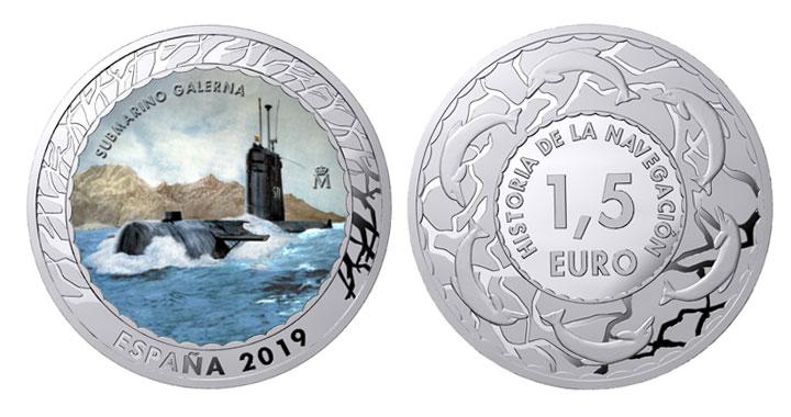 moneda Submarino Galerna