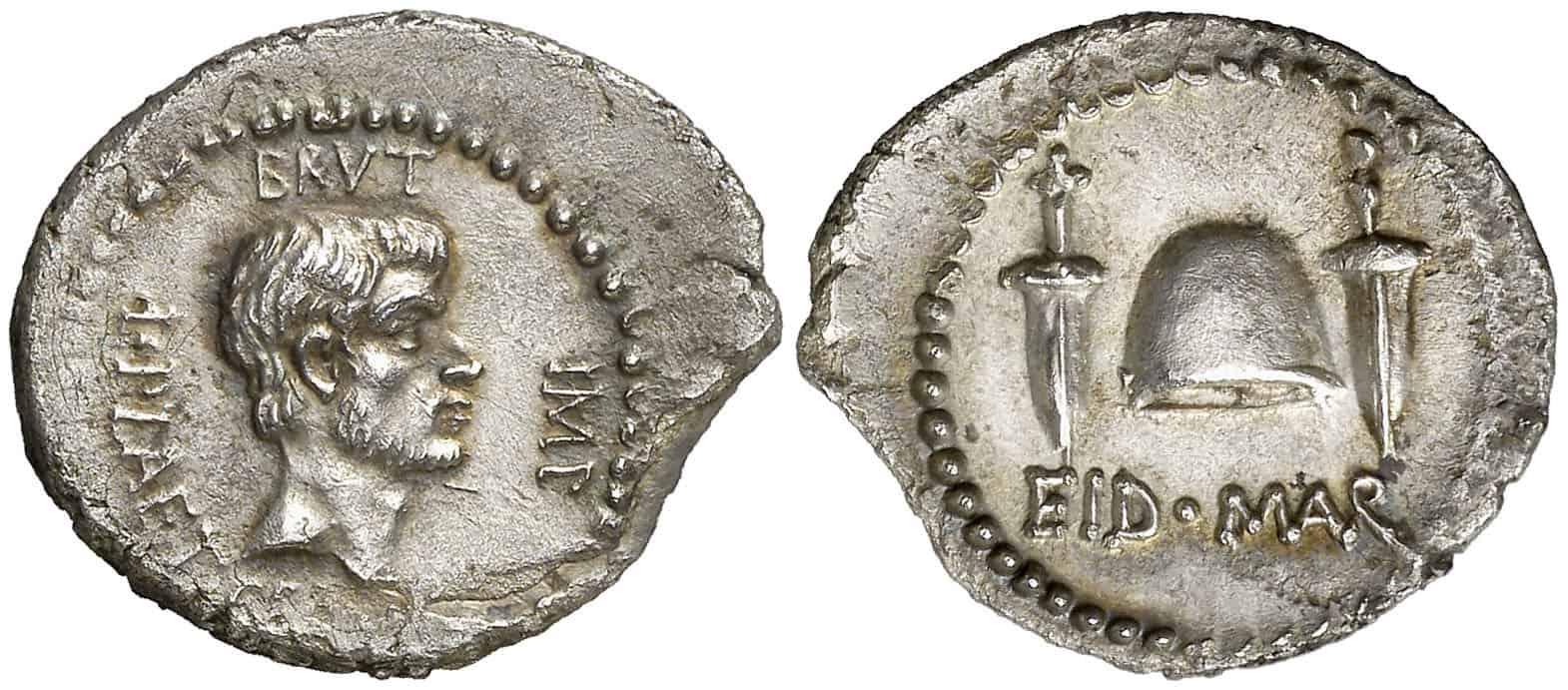 denario Bruto idus de marzo