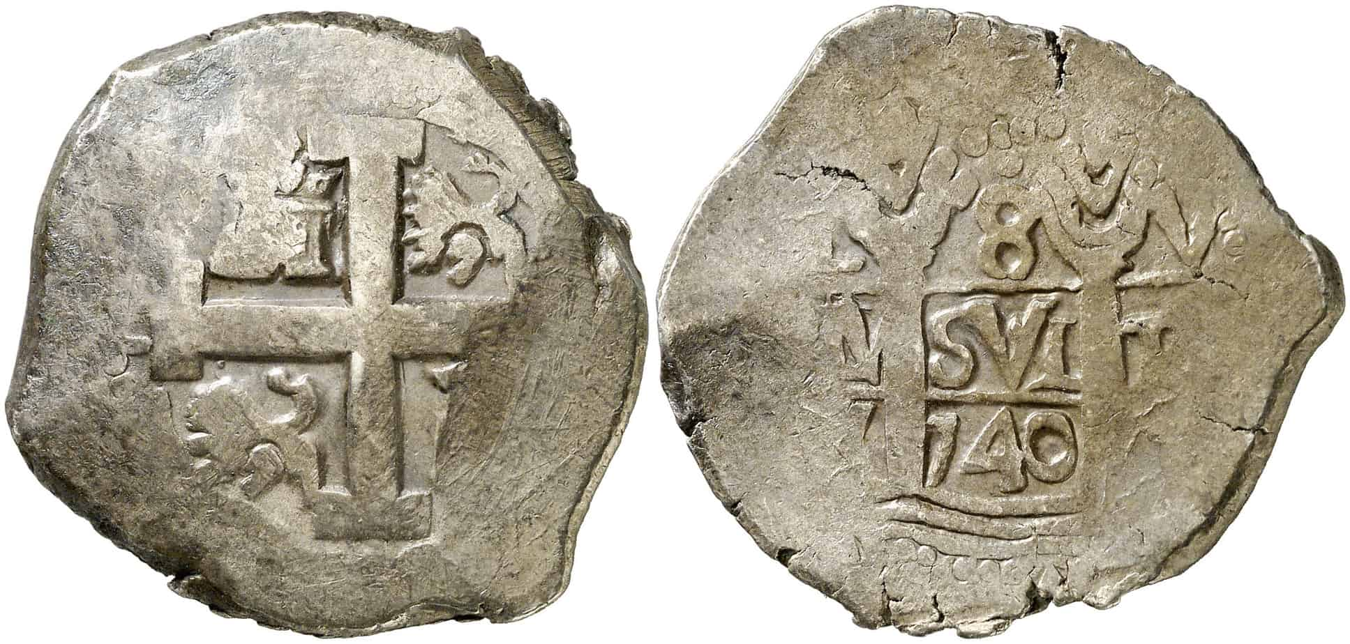 8 reales Lima 1740