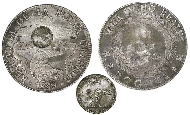 Resello paraguayo, 1868
