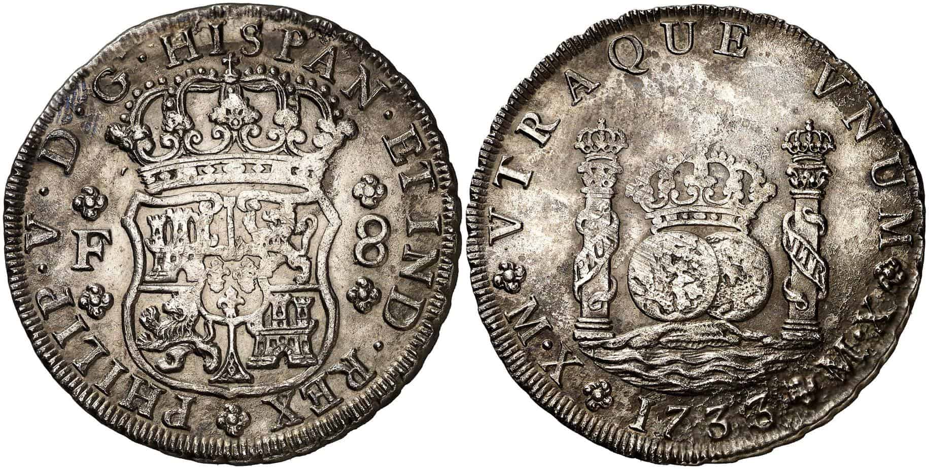 8 real México 1733