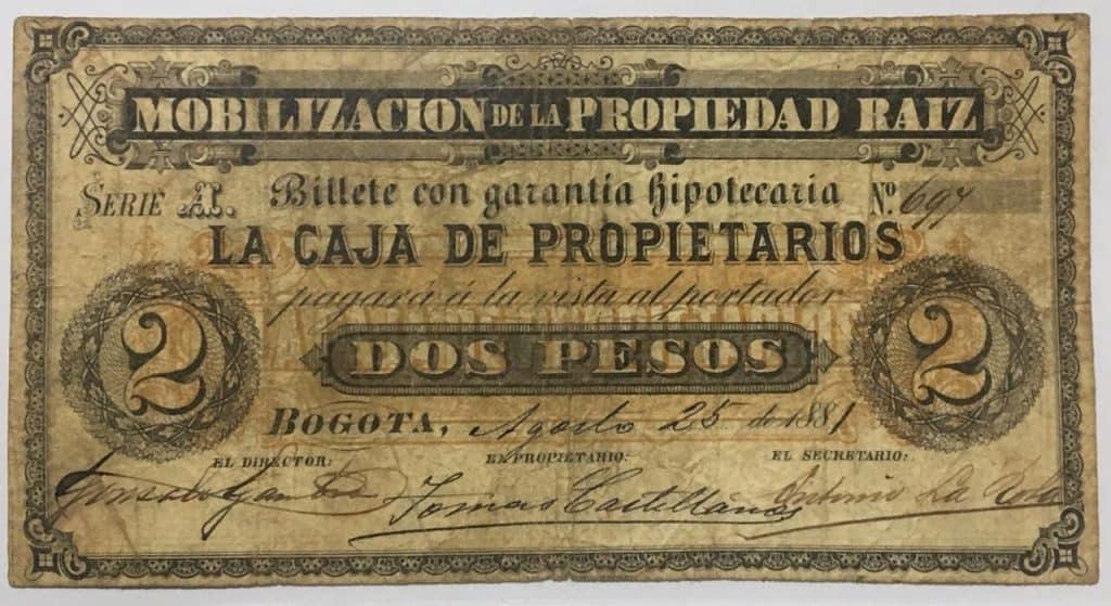 billete de mobilización