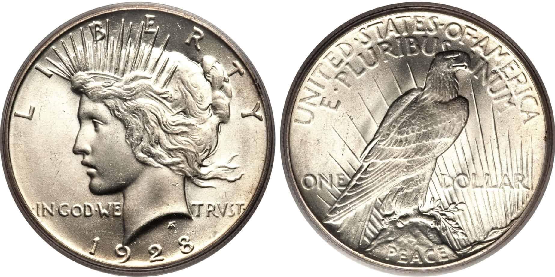 Dólar de la Paz, el que substituyó al dólar Morgan