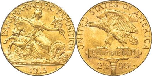 Dólar conmemorativo. Anverso de Charles E. Barber y reverso de George T. Morgan.