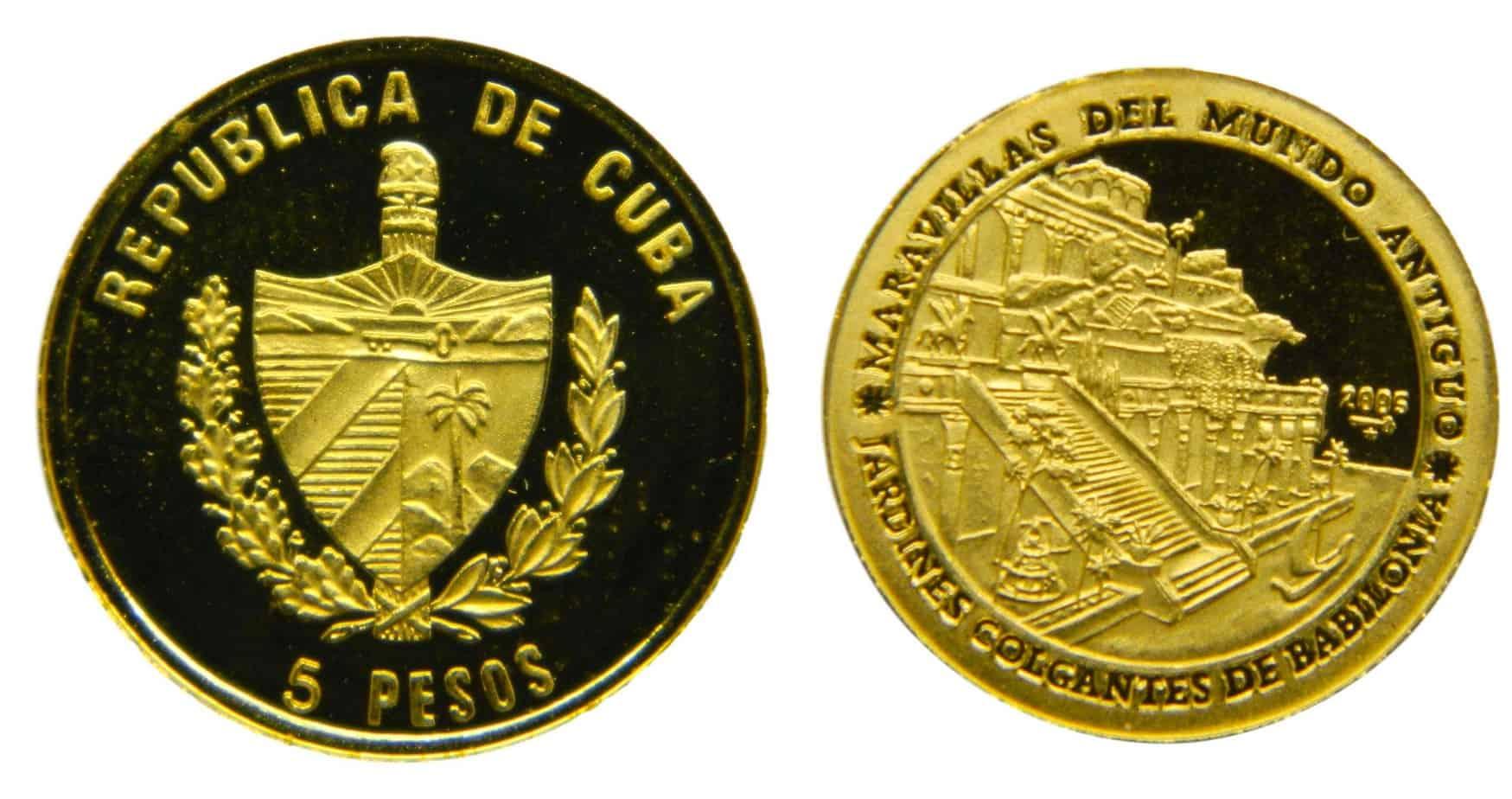 5 pesos Cuba