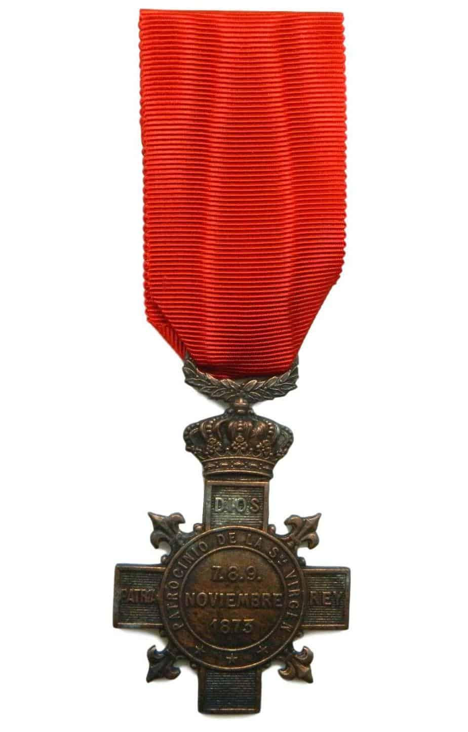 medalla carlista
