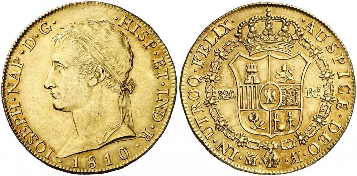 Las monedas de la Guerra de la Independencia Española