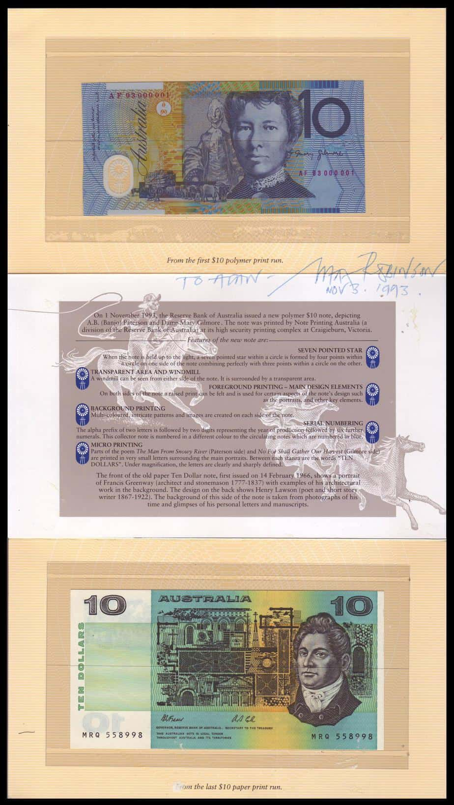 10 dolares Australianos