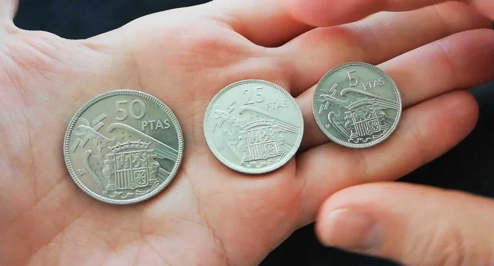 5, 25 y 50 pesetas BA