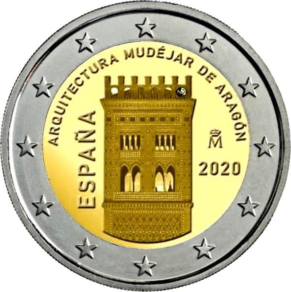2 euros de 2020 y otras novedades de la FNMT