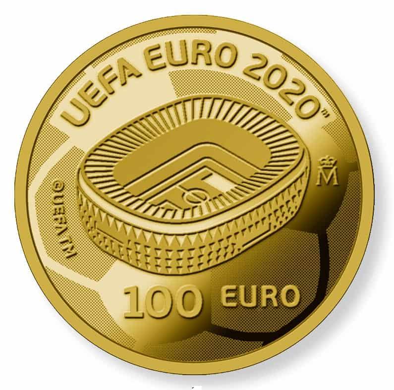 100 euros Eurocopa 2020
