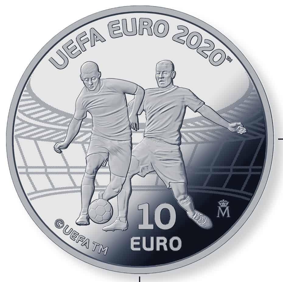 10 euros Eurocopa 2020