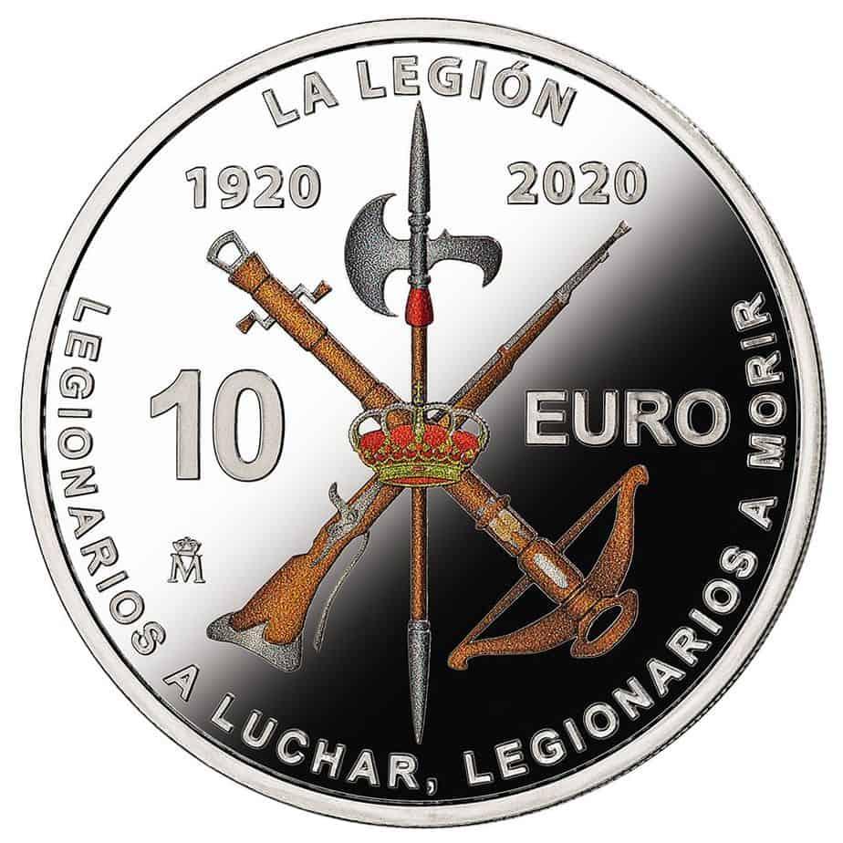 La moneda de la Legión: un año después