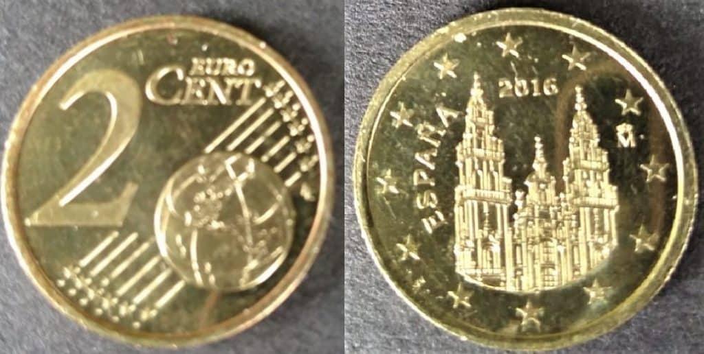 2 eur