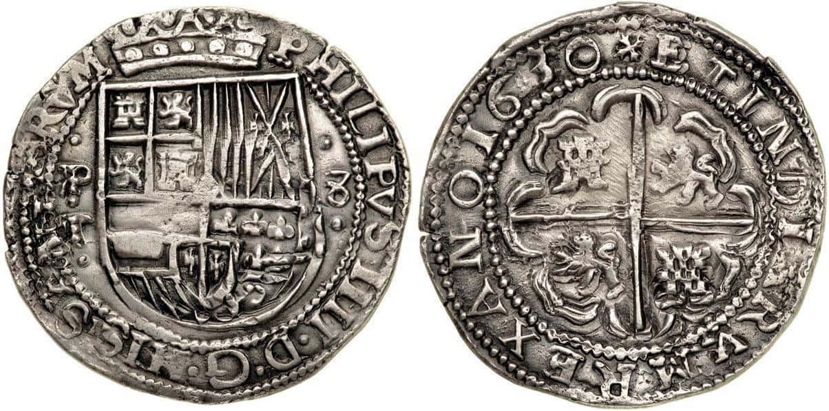 8 reales galano 1630, Potosí