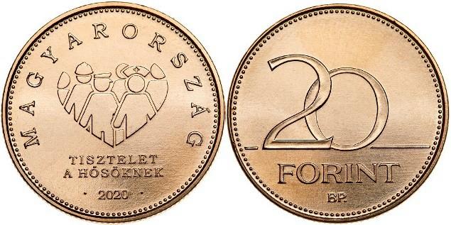 20 florines 2020, Hungría