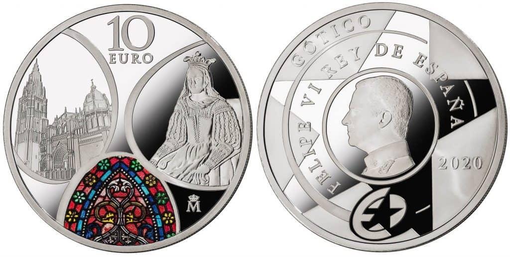 10eurosSerieEuropaGotico2020