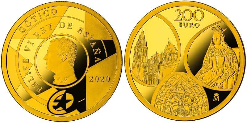 200eurosSerieEuropaGotico2020