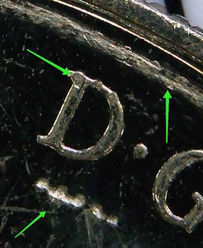 Un error numismático se debe ver a simple vista