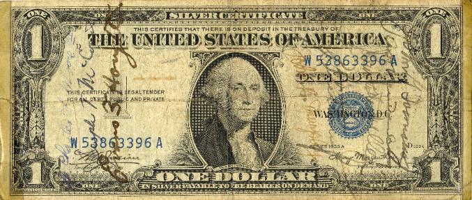 Los <i>short snorter</i>: billetes firmados durante la Segunda Guerra Mundial