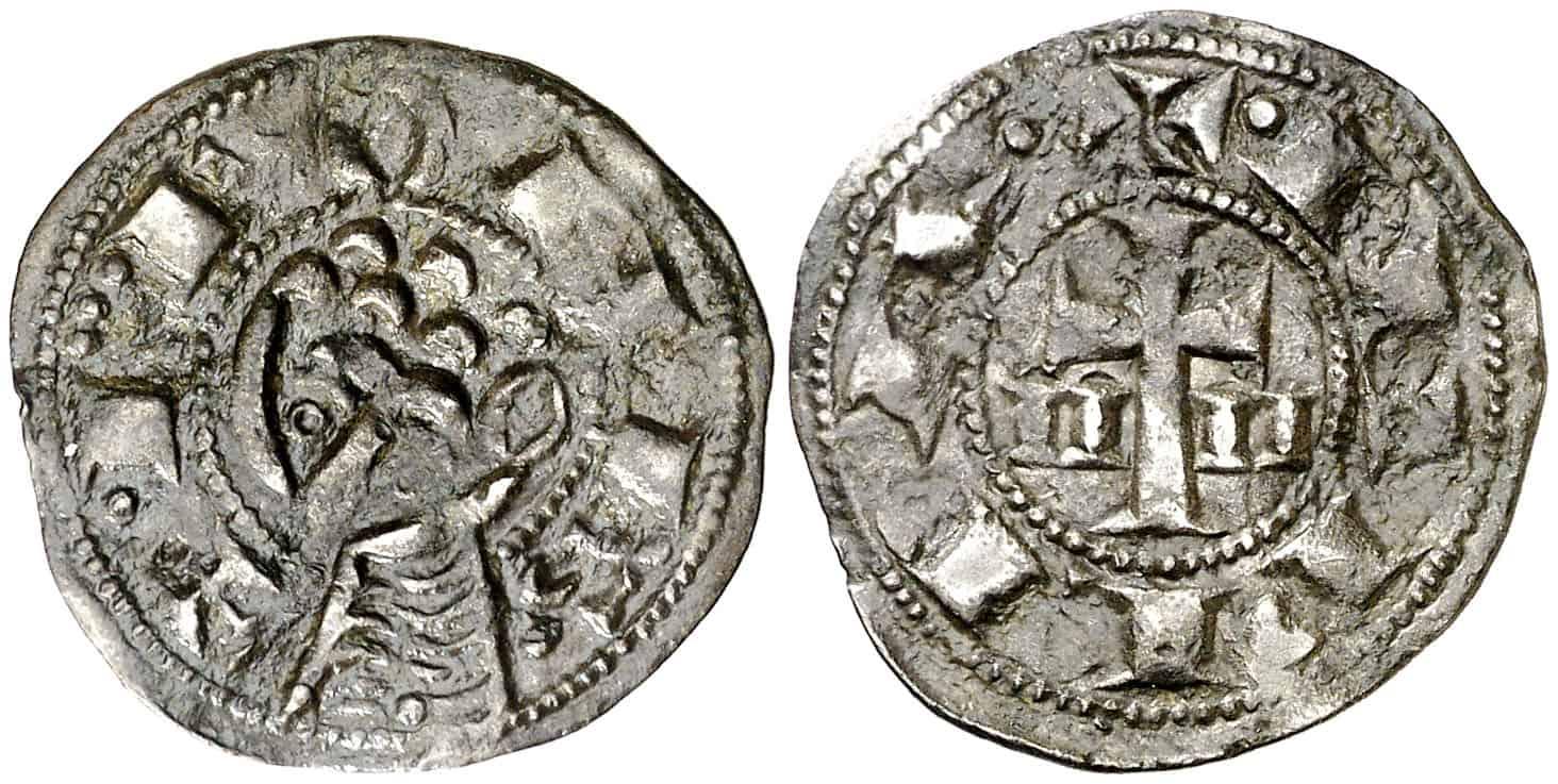 Una moneda románica por provincia de Castilla y León
