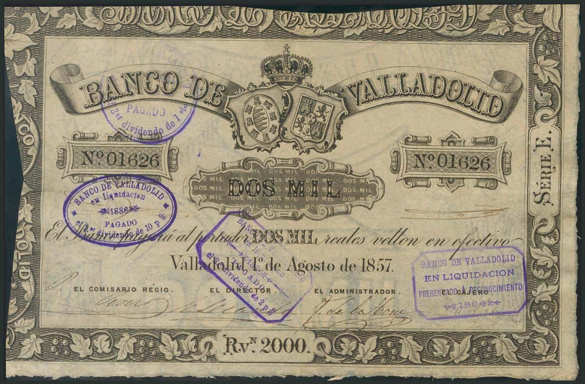 2000 reales Valladolid