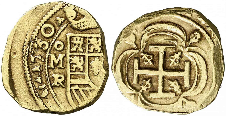 4 escudos México 1730/28