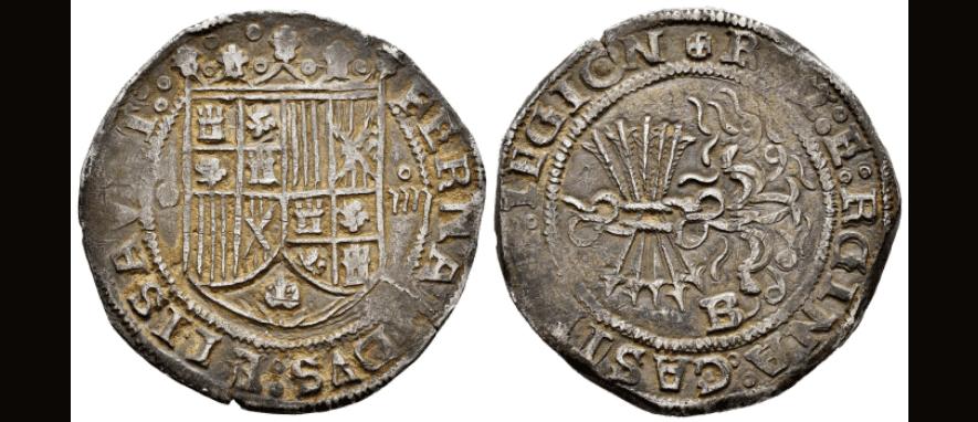 4 reales Burgos, Reyes Católicos