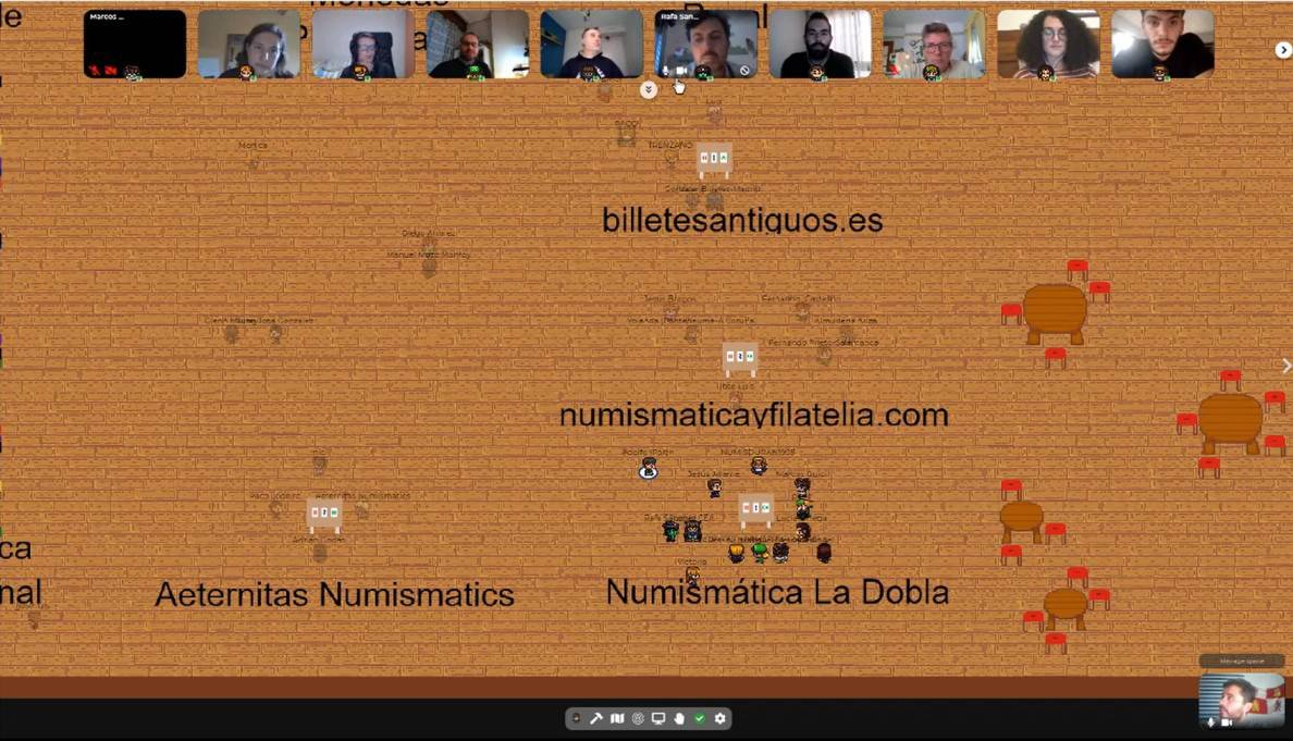 Reflexiones tras la Primera Convención Numismática Online
