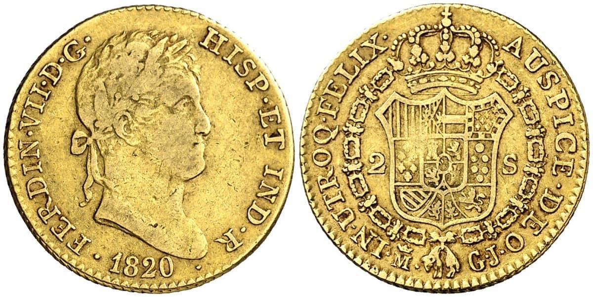2 escudos Madrid