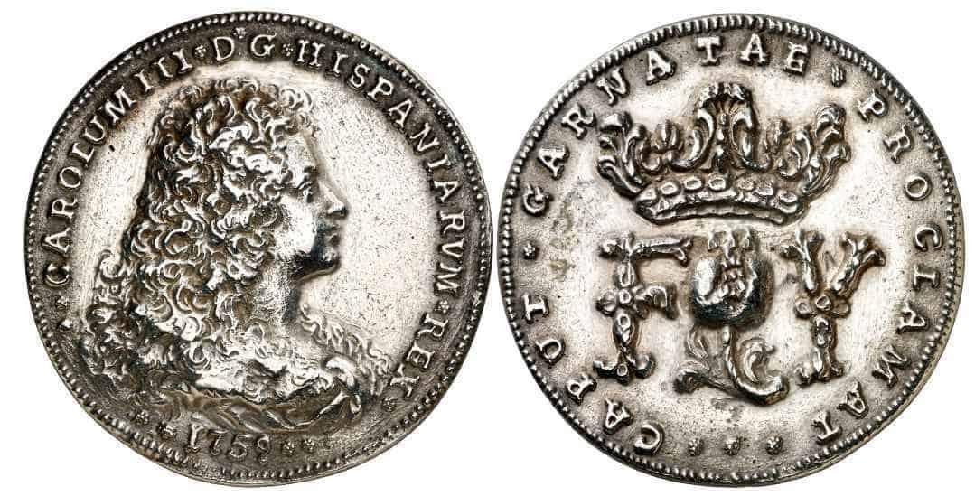 medalla Carlos III Granada