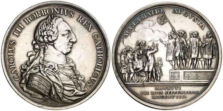 medalla Carlos III Madrid
