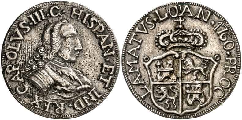 medalla Carlos III Lujan