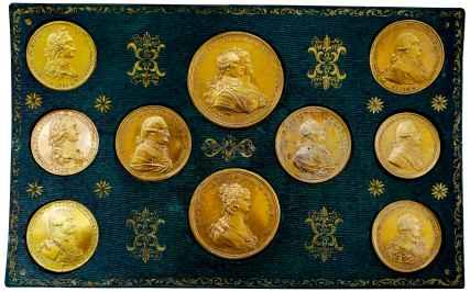 juego de medallas