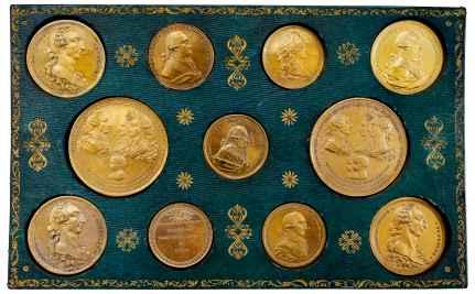 conjunto de medallas