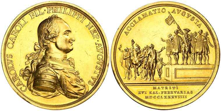 medalla Carlos IV Madrid