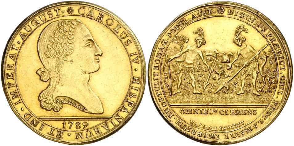 medalla Carlos IV Chile