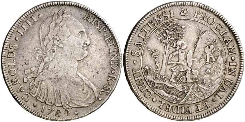 Medalla Carlos IV Salta Argentina