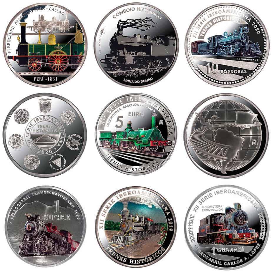 XII Serie Iberoamericana plata