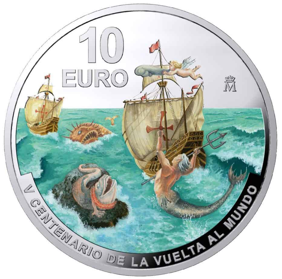 10 euros 2020 Primera Vuelta al Mundo