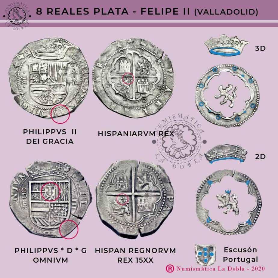 Valladolid 8 reales