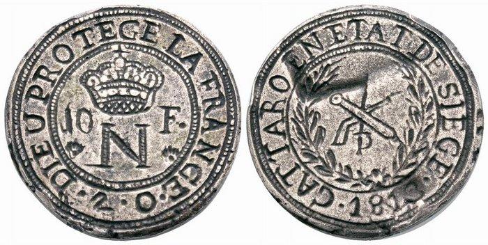 10 francos Cattaro 1813