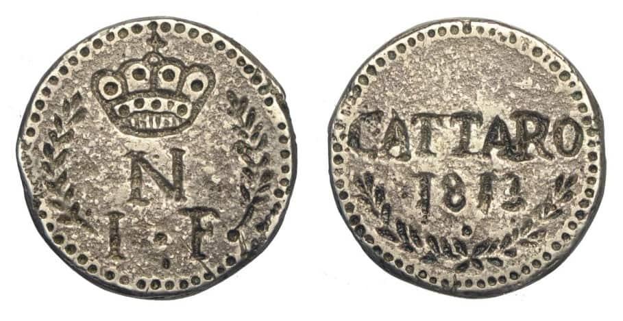 1 franco Cattaro 1813