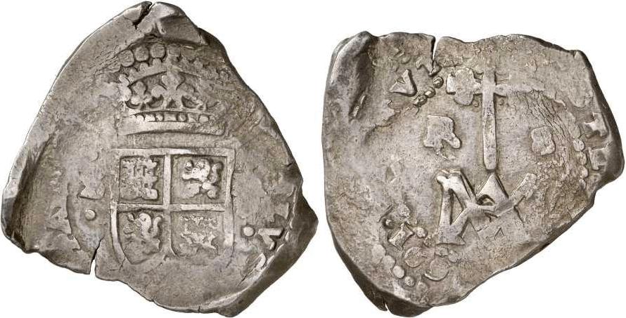 Carlos II, 8 reales 1691. Sevilla. Tipo María.