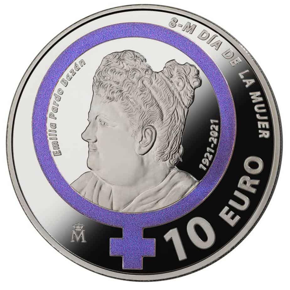 Moneda conmemorativa del 8 de marzo
