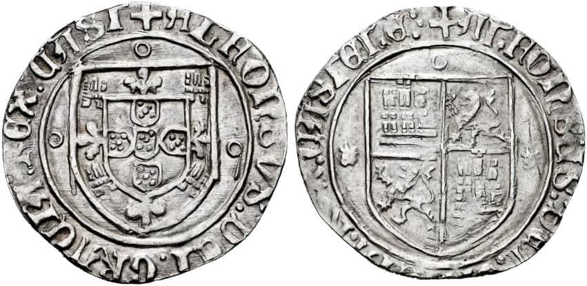 1 real de Toro, Alfonso V de Portugal