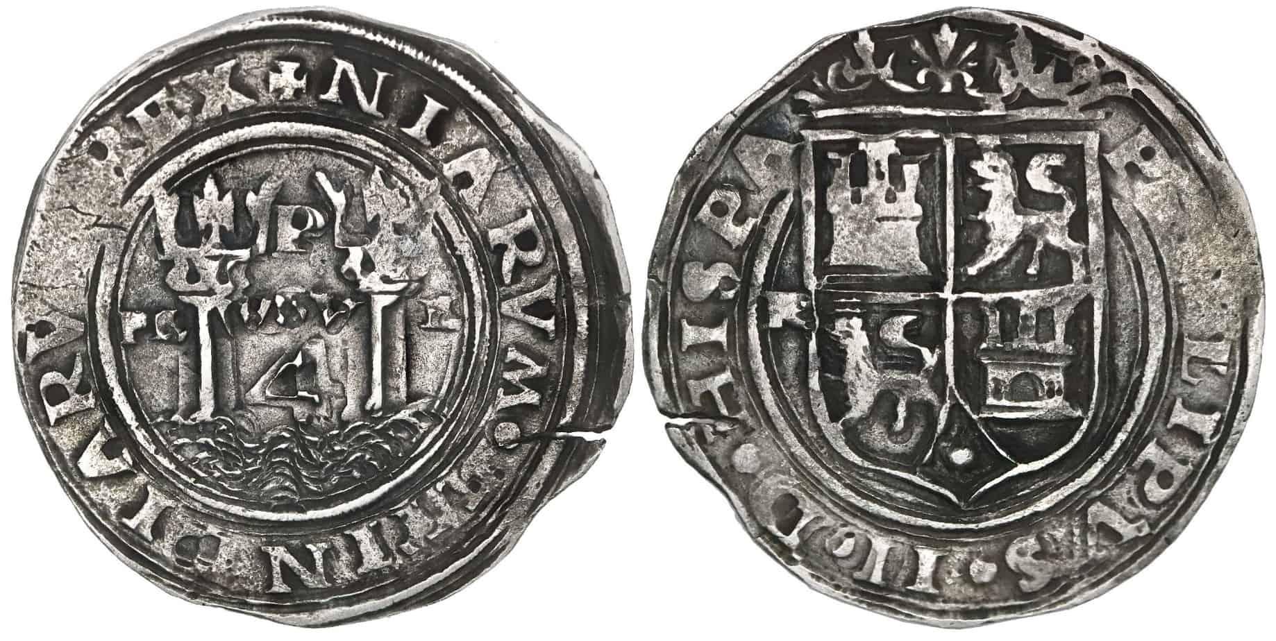 Felipe II, 4 reales Lima de Rincón