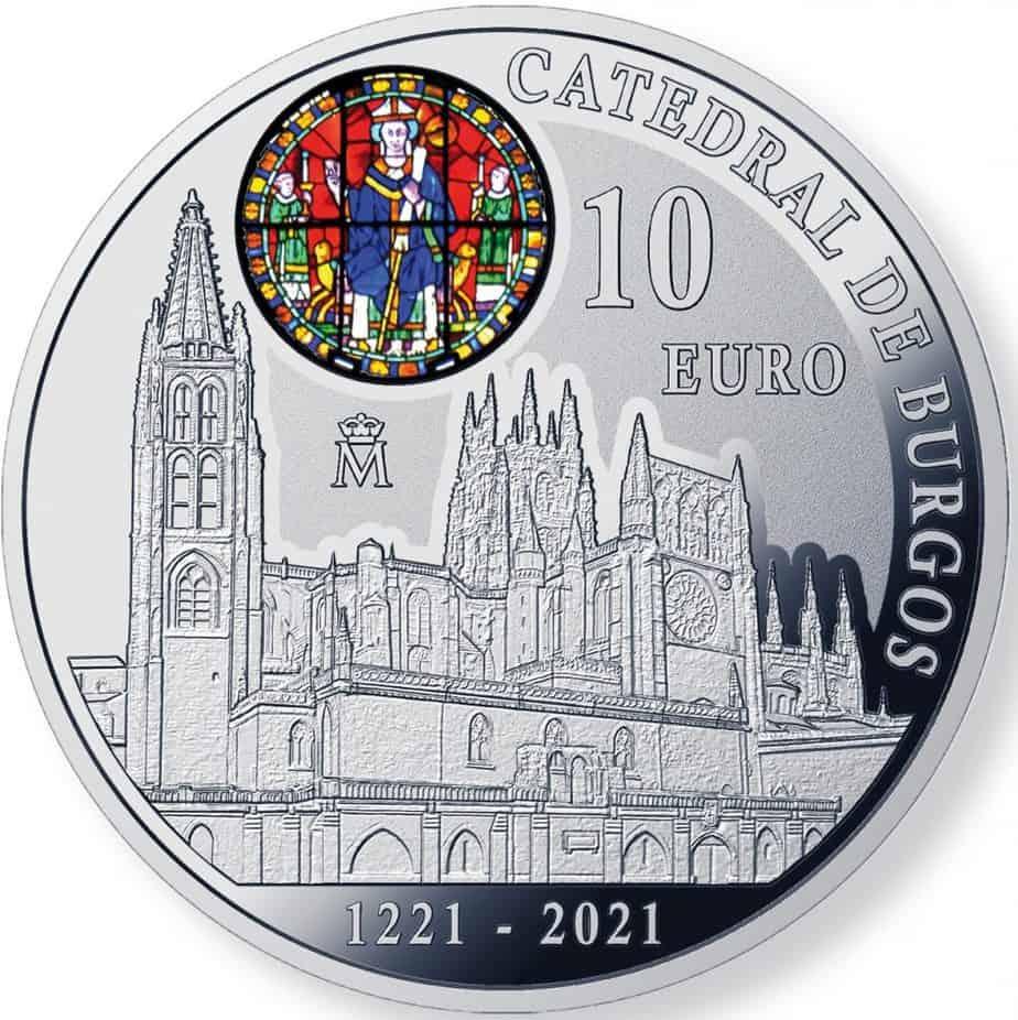 10 euros Catedral de Burgos