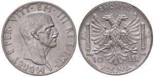 Víctor Manuel III - 10 lek 1939